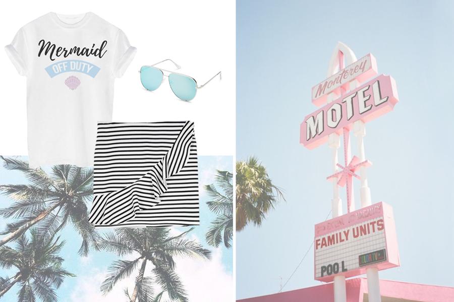 Vakantie outfits: ik ga op vakantie en neem mee...