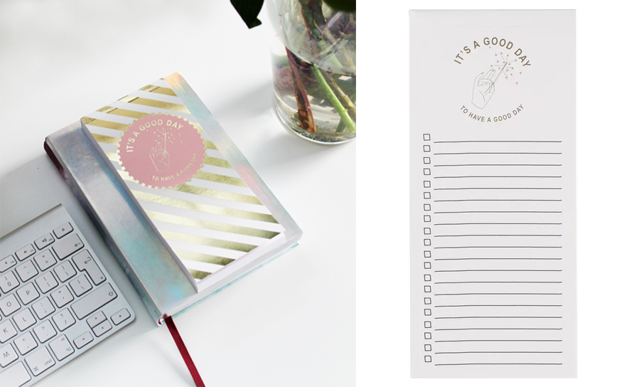 Checklist en notitieboek Hema