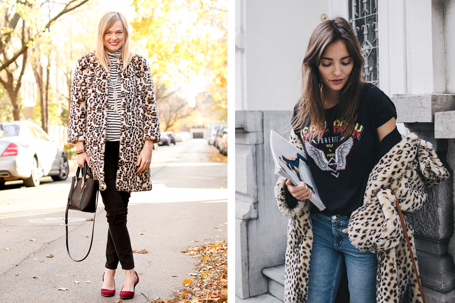 Outfits leopard jas