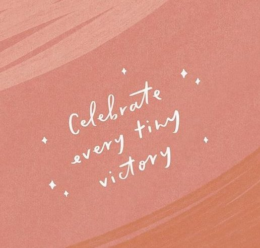Succes vieren: celebrate every tiny victory